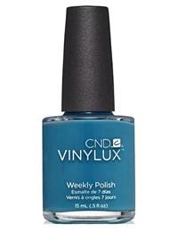 Лак для ногтей CND VINYLUX #162 Blue Rapture, 15 мл. профессиональное покрытие