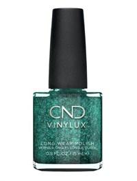 Лак для ногтей CND VINYLUX #234 Emerald Lights, 15 мл. профессиональное покрытие