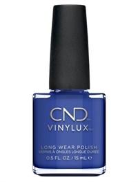 Лак для ногтей CND VINYLUX #238 Blue Eyeshadow, 15 мл. недельное покрытие