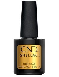 Верхнее покрытие CND Shellac UV Top Coat, 15 мл. для гель лака