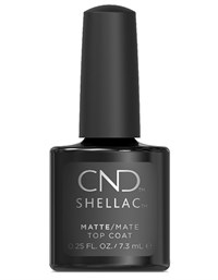 Матовое покрытие CND Shellac Matte Top Coat, 7.3 мл. топ для гель лака