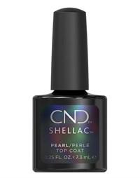 Перламутровое покрытие CND Shellac Pearl Top Coat, 7.3 мл. топ для гель-лака