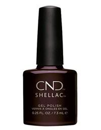 """Гель лак CND Shellac Dark Dahlia, 7.3 мл. """"Тёмный георгин"""""""