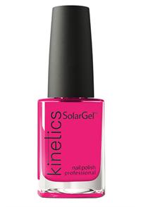 "Лак для ногтей Kinetics SolarGel #498 Wild Fuchsia, 15 мл. ""Дикая Фуксия"""