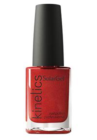 "Лак для ногтей Kinetics SolarGel Iron Red #489, 15 мл. ""Красное железо"""