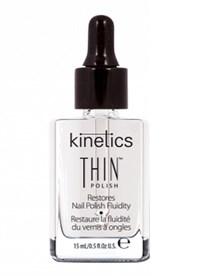 Разбавитель для лака Kinetics Thin Polish, 15 мл. восстановитель консистенции покрытий