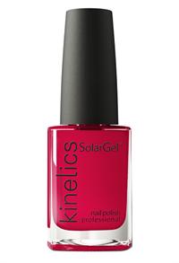 """Лак для ногтей Kinetics SolarGel #465 Bloody Red, 15 мл. """"Ягодный красный"""""""
