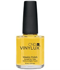 CND VINYLUX #104 Bicycle Yellow,15 мл.- лак для ногтей