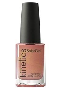 "Лак для ногтей Kinetics SolarGel №046 Cinnamon Girl, 15 мл. ""Девица-корица"""