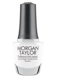 """Лак для ногтей Morgan Taylor All White Now, 15 мл. """"Ослепительно белый"""""""
