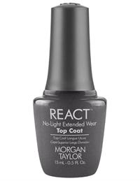 Верхнее покрытие Morgan Taylor REACT Top Coat, 15 мл. для недельного маникюра
