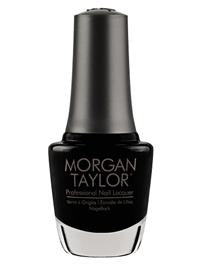 "Лак для ногтей Morgan Taylor Black Shadow, 15 мл. ""Чёрная тень"""
