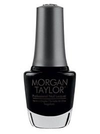 """Лак для ногтей Morgan Taylor Little Black Dress, 15 мл. """"Маленькое черное платье"""""""