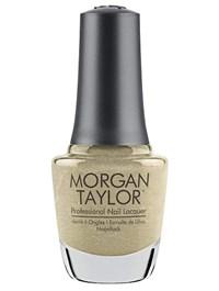 """Лак для ногтей Morgan Taylor Give Me Gold, 15 мл. """"Золотой"""""""