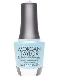 """Лак для ногтей Morgan Taylor Water Baby, 15 мл. """"Голубая акварель"""""""