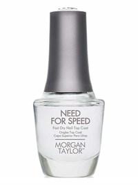Верхнее покрытие Morgan Taylor Need For Speed, 15 мл. топ для быстрой сушки лака