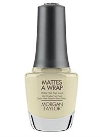 Матирующие покрытие Morgan Taylor Mattes A Wrap, 15 мл. матовый топ для лака