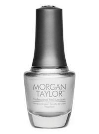 "Лак для ногтей Morgan Taylor Chrome Base, 15 мл. ""Хромовая основа"""
