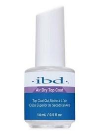 Верхнее покрытие для лака IBD Air Dry Topcoat, 14 мл. сушка закрепитель