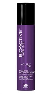 Шампунь для вьющихся волос Farmagan Bioactive X-curly Sh Curl Control Shampoo, 250 мл. с гидролизованным коллагеном