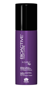 Спрей для волнистых волос Farmagan Bioactive X-curly Sp Curl Control Spray, 150 мл. с гидролизованным коллагеном
