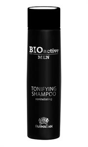 Тонизирующий мужской шампунь Farmagan Bioactive Men Tonifying Revitalizing Shampoo, 250 мл. для ежедневного ухода
