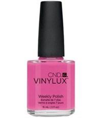 CND VINYLUX #121 Hot Pop Pink,15 мл.- лак для ногтей Винилюкс №121