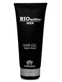 Гель для волос Farmagan Bioactive Men Hair Gel Hyper-fixant, 200 мл. с UV-фильтром