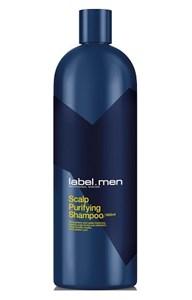Очищающий шампунь label.men Scalp Purifying Shampoo, 1000 мл. для волос и кожи головы