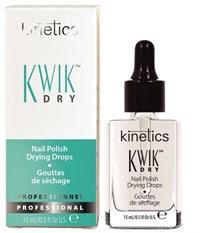 Сушка для лака Kinetics Kwik Dry Nail Polish Drops, 15 мл. в каплях с пипеткой