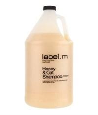 Шампунь питательный label.m Honey & Oat Shampoo, 3750 мл. для сухих и поврежденных волос