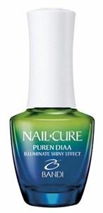Ультра-увлажняющее покрытие BANDI Nail Cure Puren Diaa, 14 мл. придающее блеск ногтям