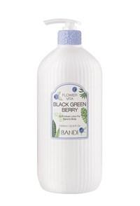 "Лосьон для рук BANDI Flower Vita Lotion Black Green Berry, 1000 мл. ""Голубика"""