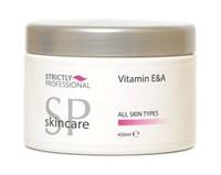 Крем-маска для лица Strictly Vitamin E & A Cream, 450 мл. обогащен витаминами А и Е питательный