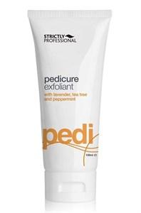Скраб для ног Strictly Professional Pedicure Exfoliant, 100 мл. с пемзой и маслами