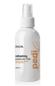 Спрей для ног Strictly Professional Refreshing Pedicure Mist, 150 мл. освежающий и очищающий