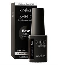 Каучуковая база для гель лака Kinetics Shield Hema Free Rubber Base, 15 мл. эластичная