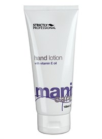 Лосьон для рук Strictly Professional Mani Care Hand Lotion, 100 мл. с витамином Е