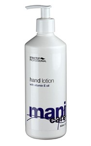 Лосьон для рук Strictly Professional Mani Care Hand Lotion, 500 мл. с витамином Е
