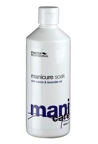 Гель для ванночки Strictly Professional Mani Care Manicure Soak, 500 мл. очищающее замачивание
