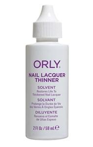 Разбавитель ORLY Nail Lacquer Thinner, 60 мл. жидкость для разбавления лака