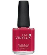 CND VINYLUX #143 Rouge Red,15 мл.- лак для ногтей Винилюкс №143