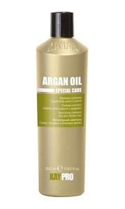 Питательный шампунь KAYPRO Argan Oil Shampoo, 350 мл. с маслом арганы для сухих, тусклых, безжизненных волос