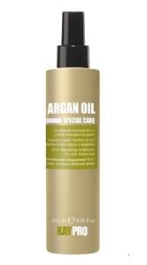 Питательный кондиционер KAYPRO Argan Oil Conditioner, 200 мл. 10 в 1 с маслом арганы для сухих, тусклых и безжизненных волос