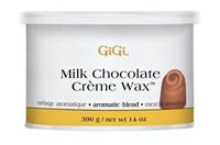 Кремовый воск GiGi Milk Chocolate Creme Wax, 396 гр. с ароматом шоколада для лица и тела, средних волос