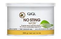 """Воск для волос GiGi No Sting Wax, 396 гр. нежный, для эпиляции чувствительной кожи лица и тела """"Без боли"""""""