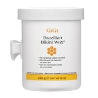 Твёрдый воск GiGi Brazilian Bikini Wax Microwave Formula, 226 гр. для эпиляции бикини и жёстких волос, для микроволновки