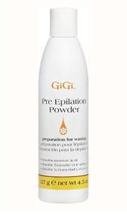 Пудра с каолином GiGi Pre Epilation Dusting Powder, 127 гр. для подготовки кожи перед эпиляцией