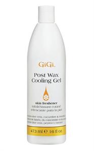 Охлаждающий гель GiGi Post Wax Cooling Gel, 473 мл. для кожи после депиляции, с ментолом