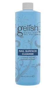 Жидкость для снятия липкого слоя GELISH Nail Surface Cleanse, 480 мл. и очистки предметов